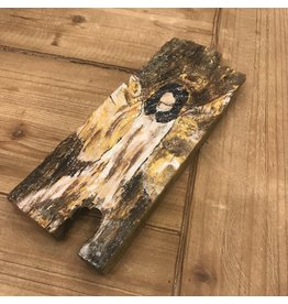 Studio 1905 Art Glad Tidings Angel on Wood