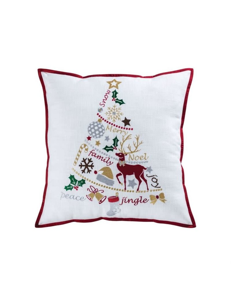 elk lighting Holiday Tiding Tree 20x20 Pillow