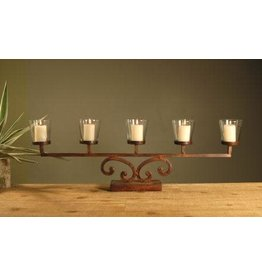 elk lighting Priarie Votive Mantle Lighting