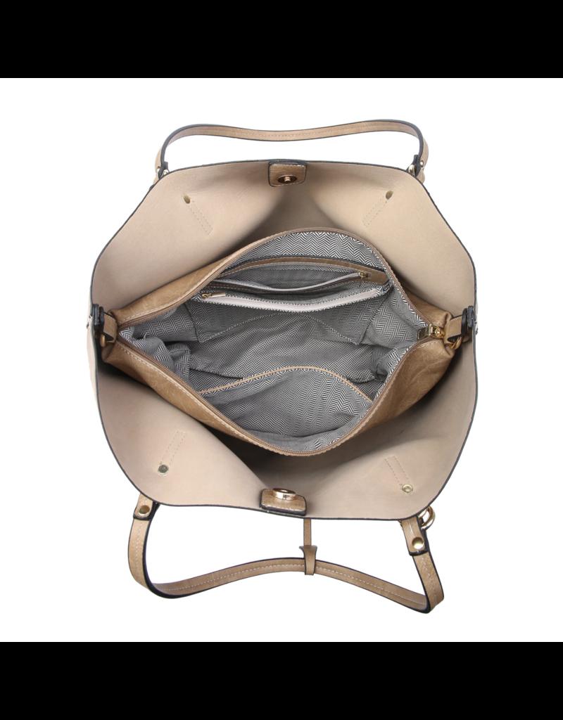 Buford Wholesale Handbag w/ Inner Bag Black