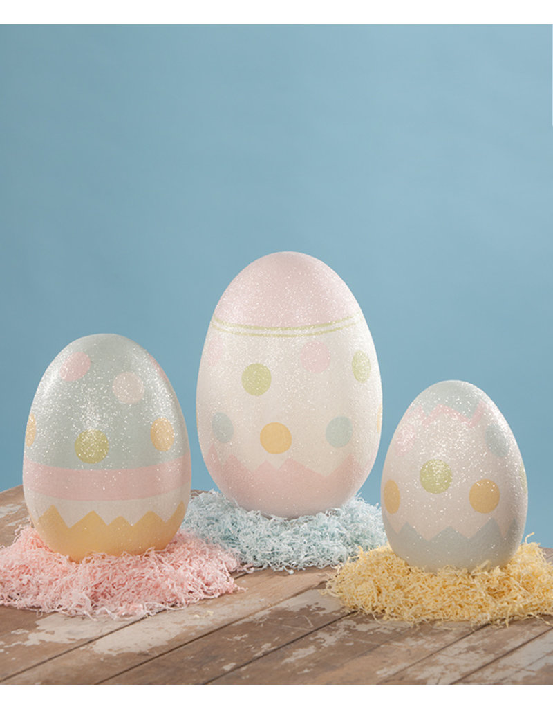 Bethany Lowe Designs Easter Eggs Large PM S/3