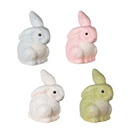 Bethany Lowe Designs Glittered Egg Dye Bunny