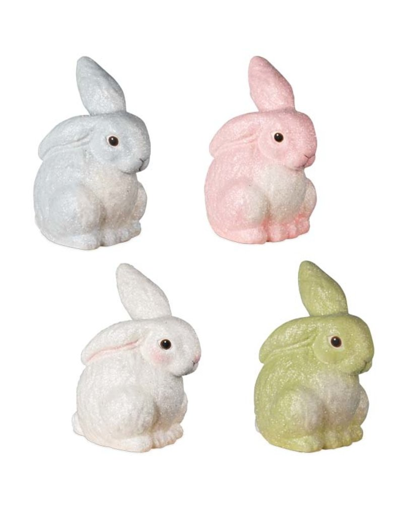 Bethany Lowe Designs Glittered Egg Dye Bunny