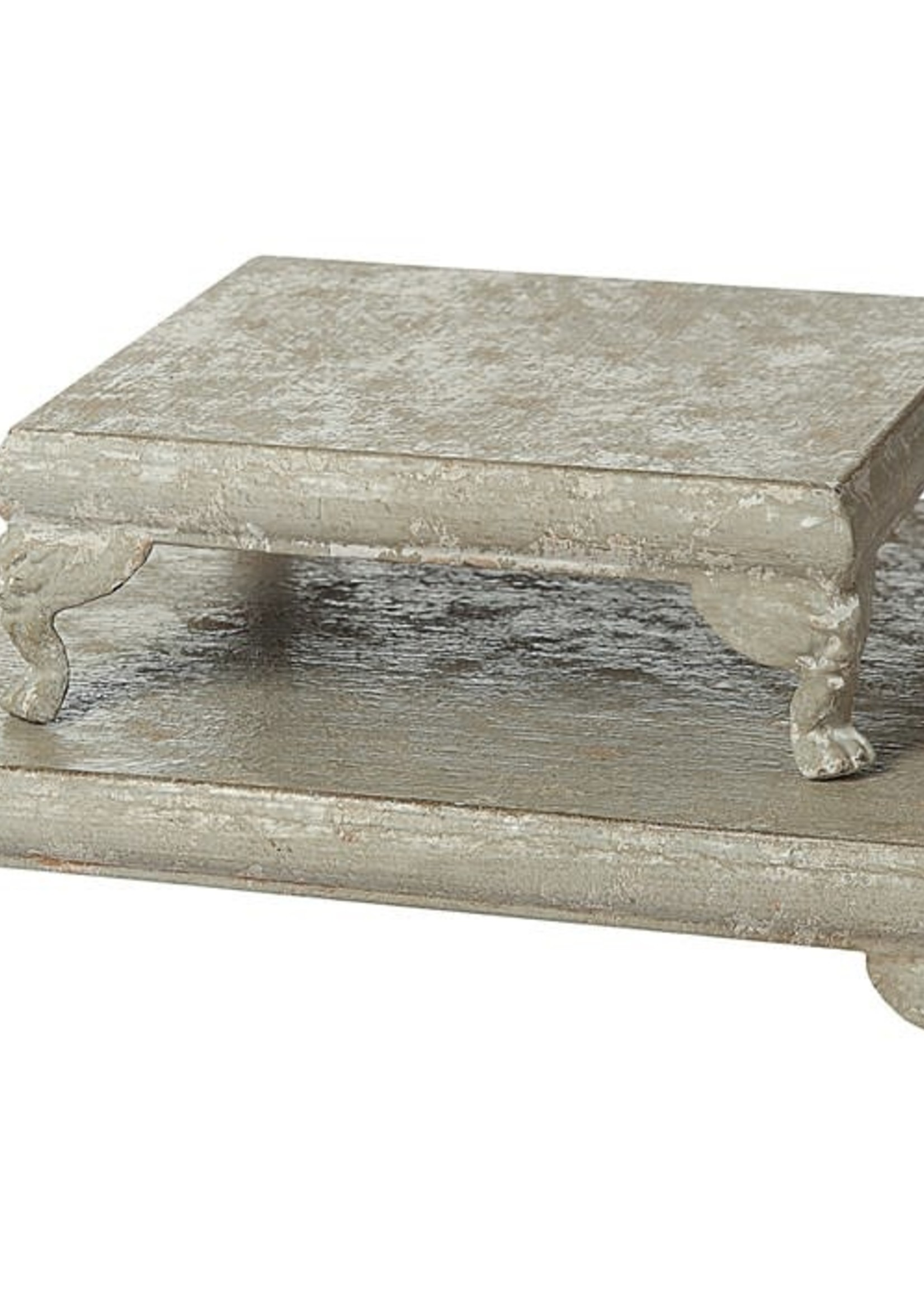 Creative Co-Op Decorative Metal Footed Petestal-Large