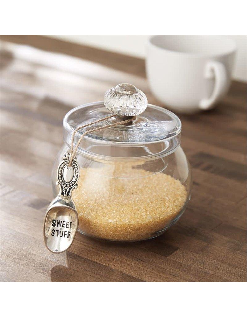 Mud Pie Door Knob Glass Sweets Jar