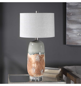 Maggie Light Table Lamp in Brushed Nickel