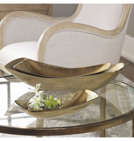 Uttermost / Revelation Anas Bowl in Antique Brass - Small