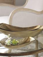 Uttermost / Revelation Anas Bowl in Antique Brass - Medium