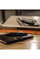 Rustico Switchback Leather Notebook Black