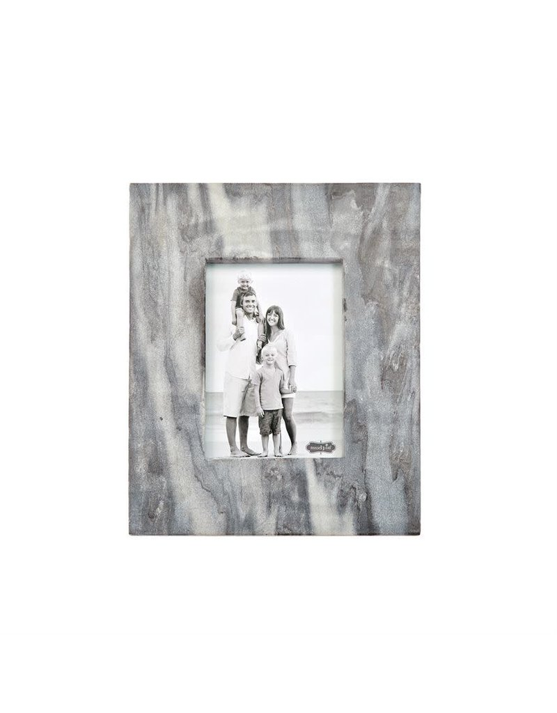 Mud Pie 5x7 Grey Marble Frame