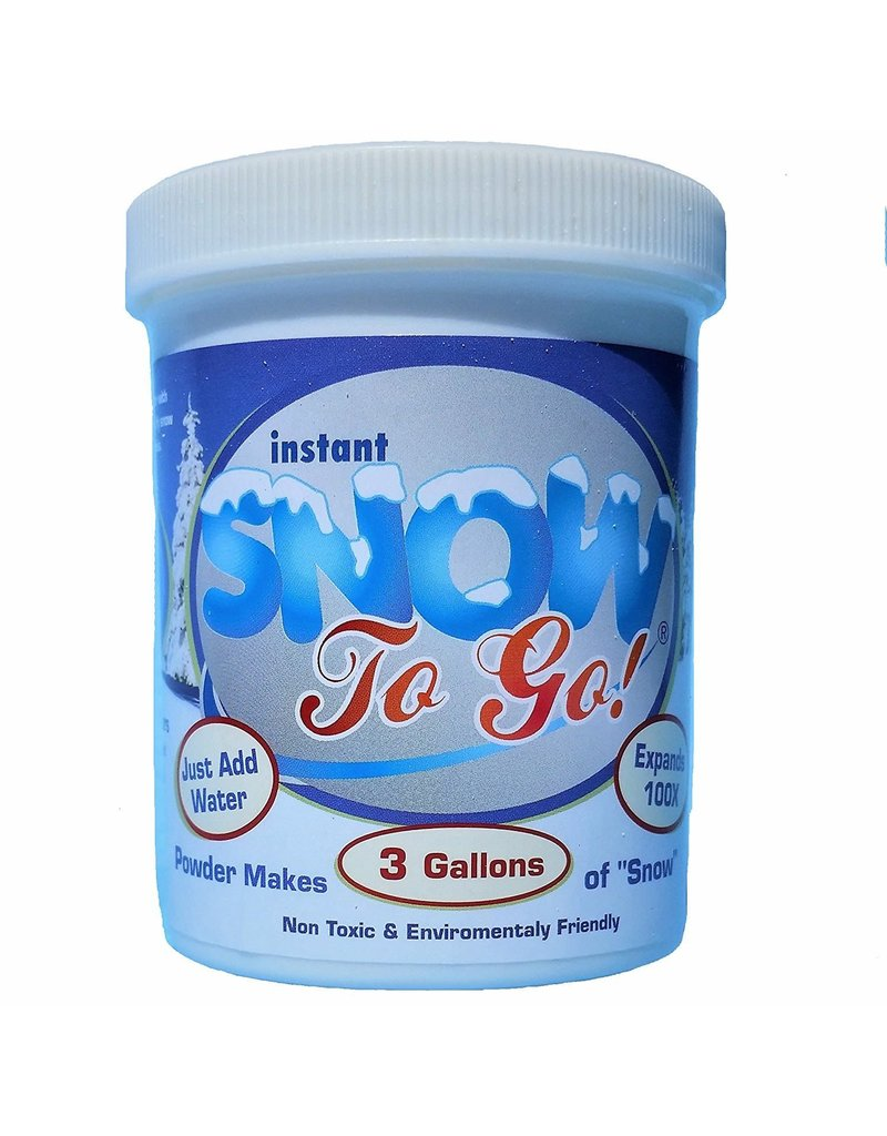 Christmas Place Instant Snow to Go oz Jar - Makes 3 Gallons