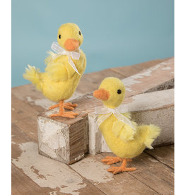 Bethany Lowe Designs Quack Yellow Duck Medium