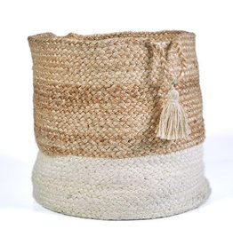 Ox Bay Trading Basket Two Toned - Medium