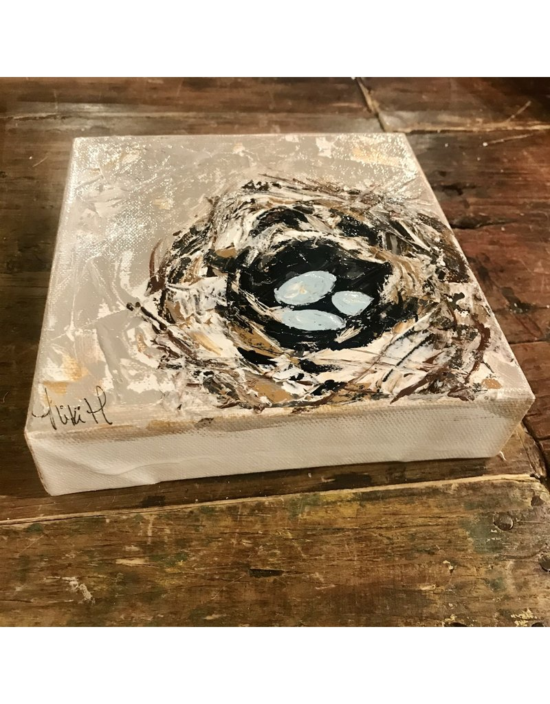 Studio 1905 Art 6 x 6 Nest Painting