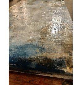 Studio 1905 Art 20 x 10 Textured Gesso Abstract Painting