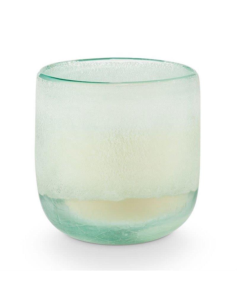 Illume Fresh Sea Salt Medium Mojave Glass Candle