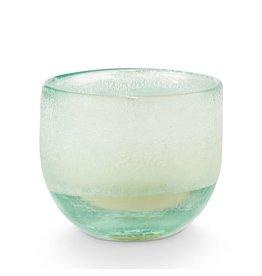 Illume Fresh Sea Salt Small Mojave Glass Candle