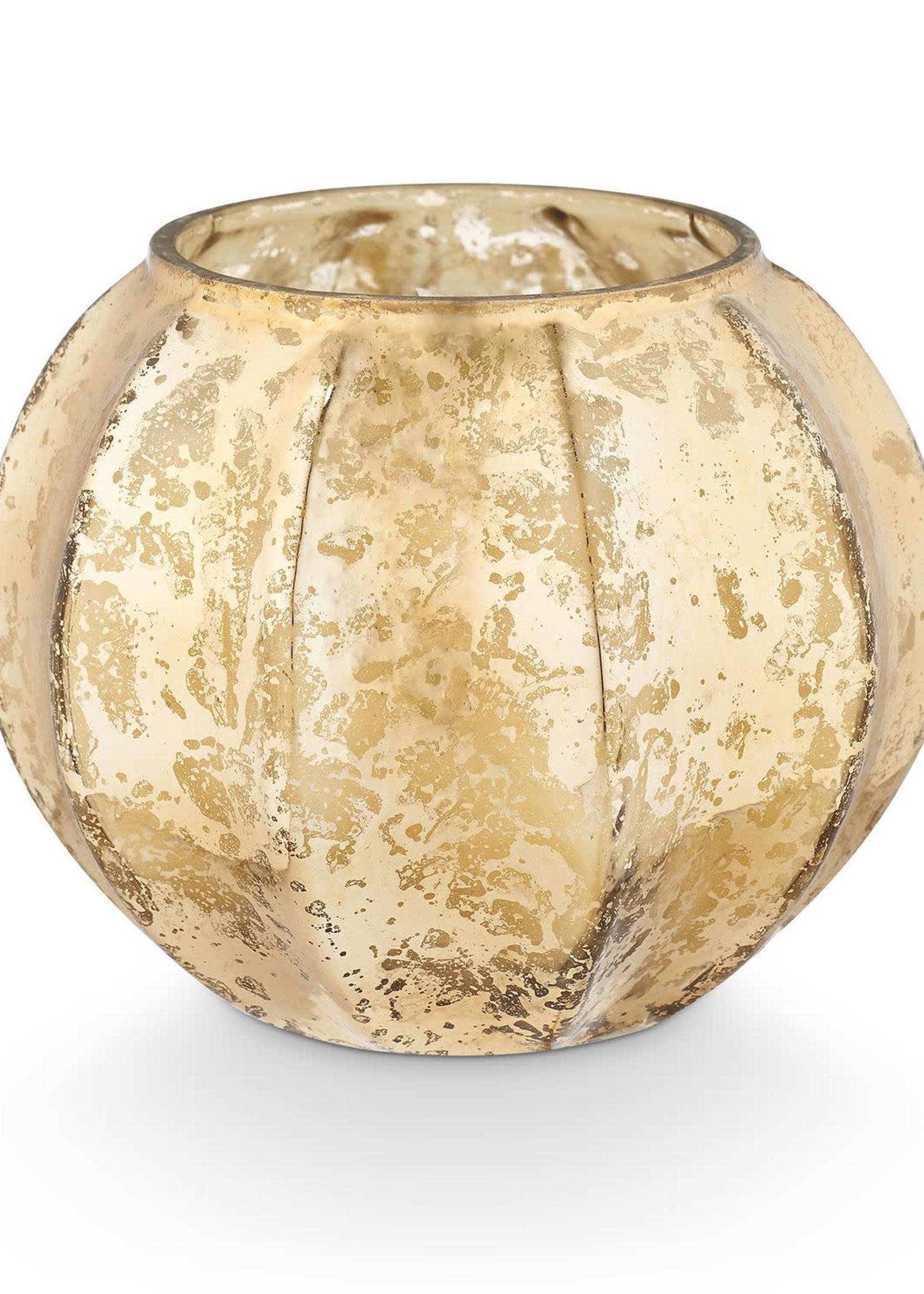 Illume Rustic Pumpkin Mercury Glass Candle