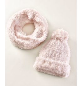 Charlie Page Polyester Knitted Scarf - Cream