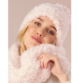 Charlie Page Polyester Knitted Hat - Cream