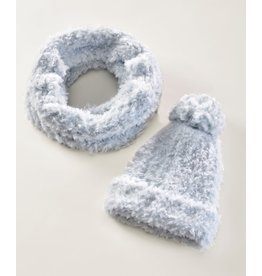 Charlie Page Polyester Knitted Hat - Blue