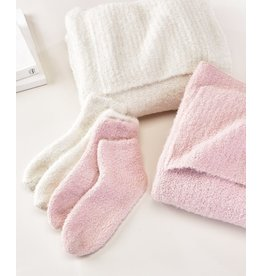 Charlie Page Knitted Socks - Cream