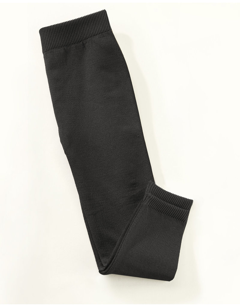 Charlie Page 4T/5T Fleeced Lined Leggings - Black