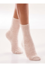 Charlie Page Chenille Socks 2 Sets - 1 Pink 1 Cream