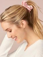 Charlie Page Silk Hair Scrunchie Light Pink