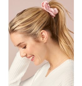 Charlie Page Silk Hair Scrunchie Light Pink