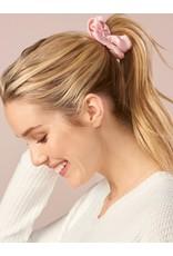 Charlie Page Silk Hair Scrunchie Greige
