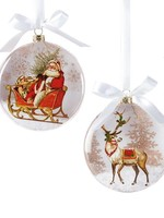 Giftcraft Christmas Angel Disc Ornament
