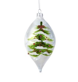 Giftcraft Painted Tree Finial Ornament