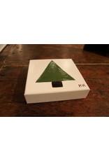Kris Marks 6x6  Solid Green Tree