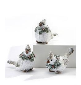 Giftcraft White Cardinal Figurine Asst.
