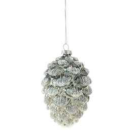 Giftcraft Glass Pinecone Ornament