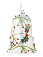 Giftcraft Glass Bell Ornament