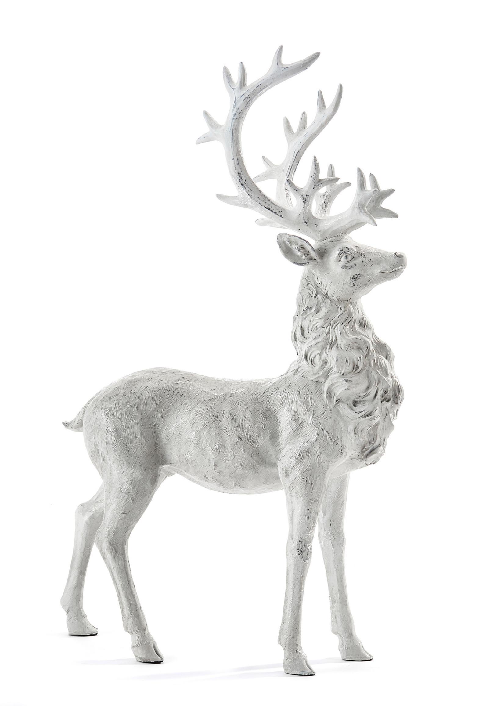 Giftcraft White Reindeer Figurine - Standing