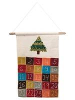 Creative Co-Op Felt Advent Calendar