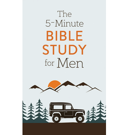 Barbour Publishing Inc. The 5 Minute Bible Study for Men