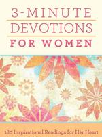 Barbour Publishing Inc. 3 Minute Devotions for Women