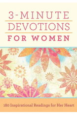 Barbour Publishing Inc. 3 Minute Devotions for Women