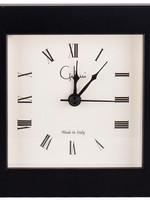 Galassi Artist Black 4 x 4 Alarm Clock