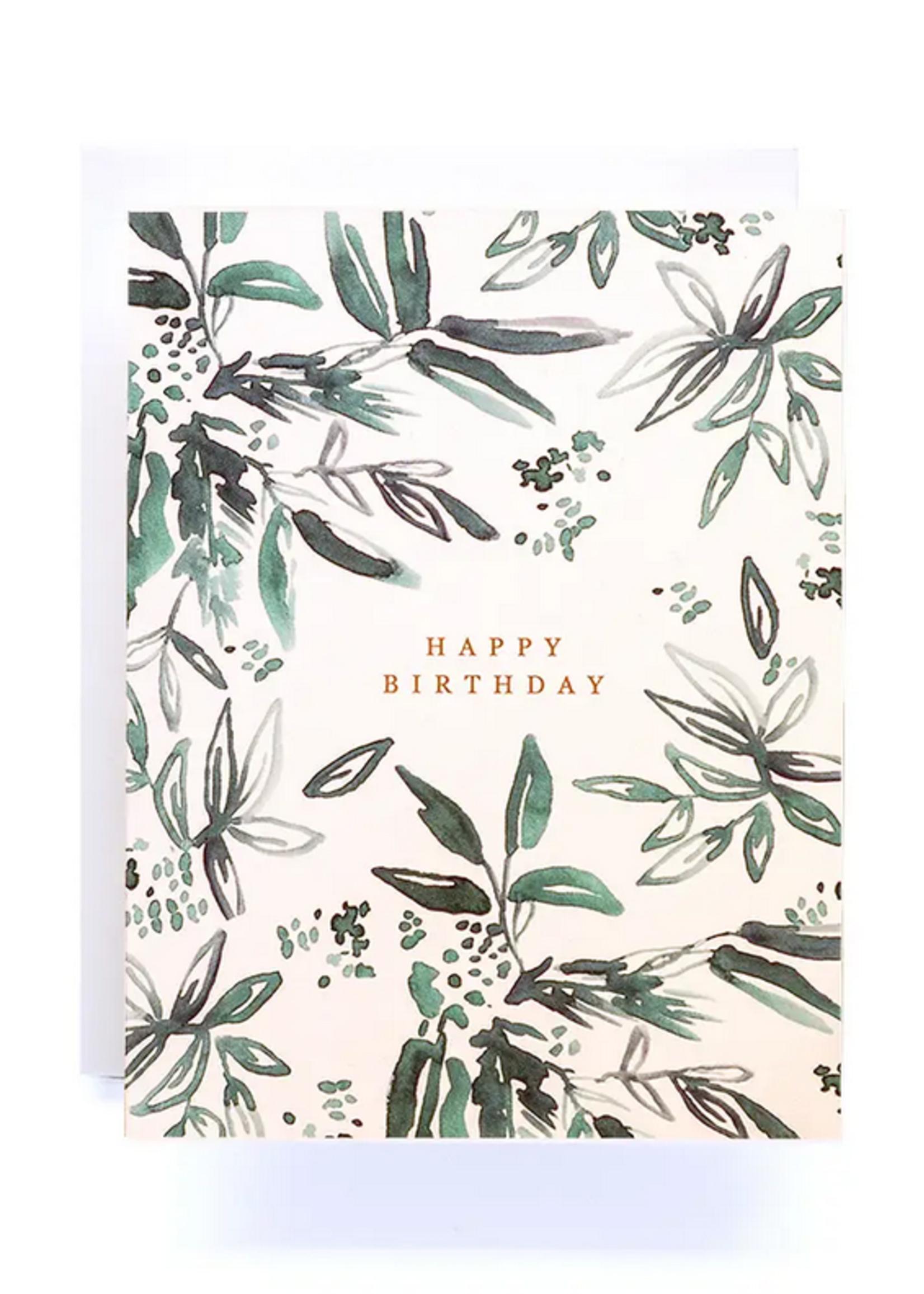 Antiquaria Coco Happy Birthday Greeting Card