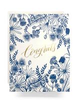 Antiquaria Meadow Congrats Card