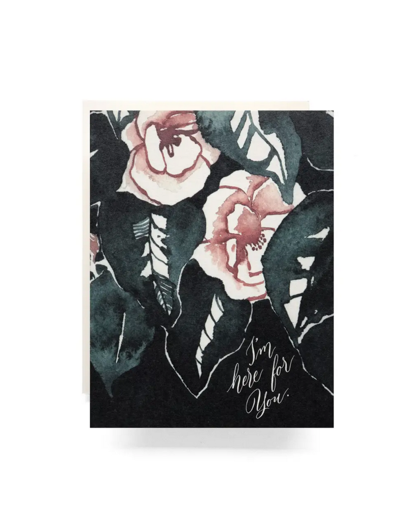 Antiquaria Magnolia I'm Here For You Greeting Card
