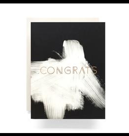 Antiquaria Brushed Congrats Greeting Card