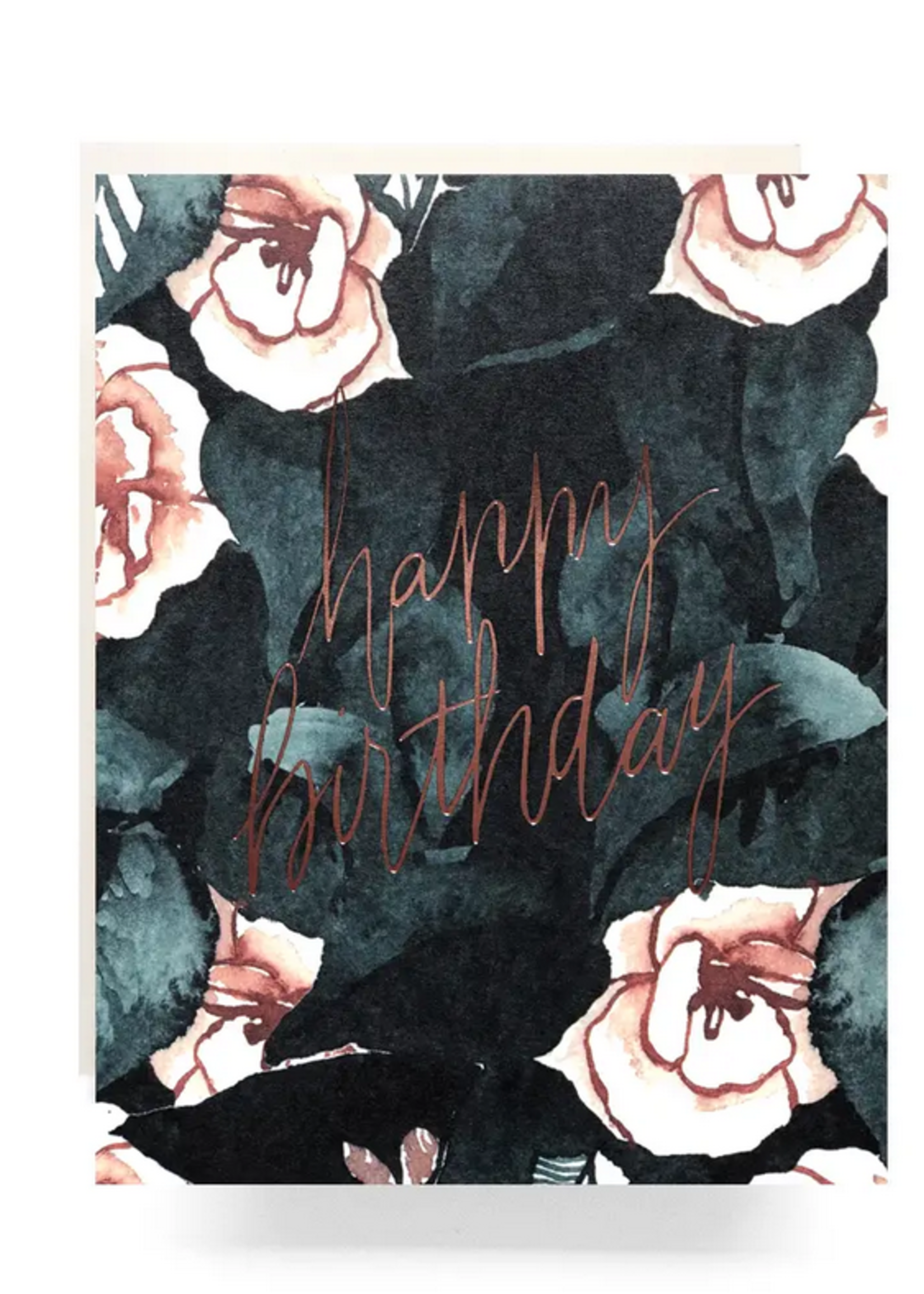 Antiquaria Magnolia Birthday Greeting Card
