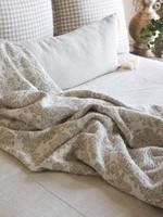 Crown Linen Designs Throw Pattern Jacquard