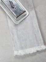 Crown Linen Designs Towel Tuscan, Flax, Fringe